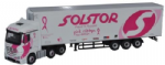Oxford Diecast 76MB005 Mercedes Actros SSC Fridge Solstor Pink Ribbon Foundation